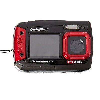 iON Cool-iCam Waterproof Shockproof Digital Selfie Camera with Dual LCD Display
