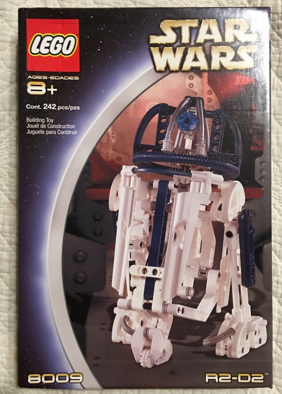 LEGO R2-D2 8009 Star Wars Factory Sealed New 242pcs