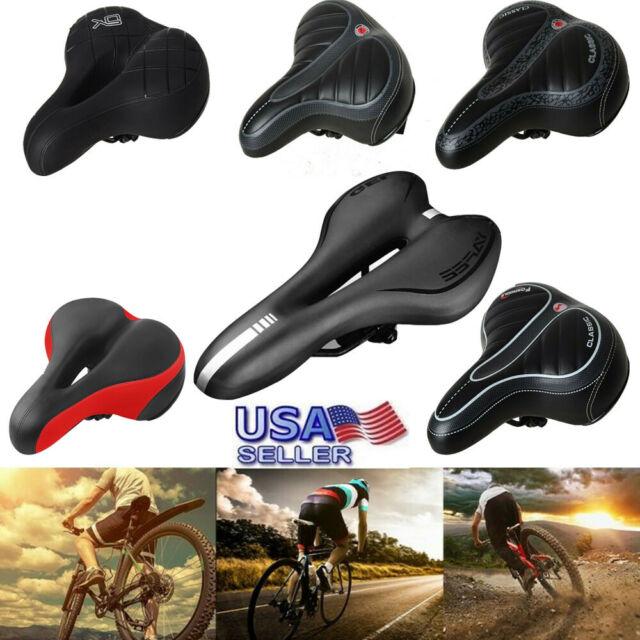 Brand Comfort Saddle Bike Road Mountain Bicycle Cycling Seat Soft Cushion Pad US