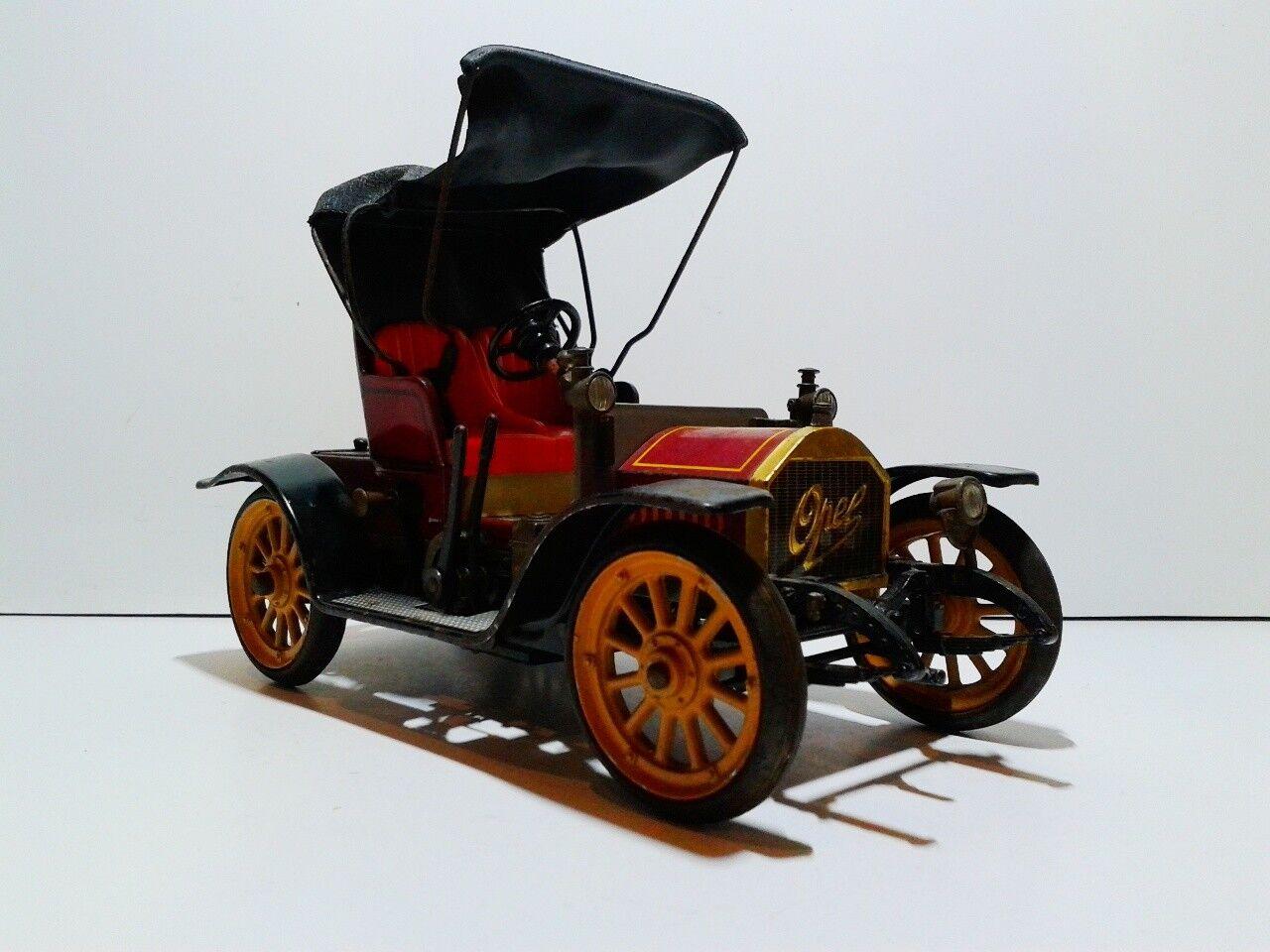 el mas reciente Vintage Vintage Vintage roadster 1228 Opel doctor coche 4 8 PS 1909 Clocwork  muchas concesiones