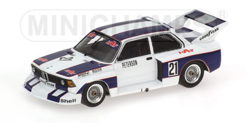 MINICHAMPS 400772321 BMW 320i Taille 5-Ronnie Peterson-équipe A-DRM 1977 masss