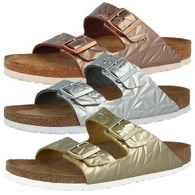 Birkenstock Arizona SFB Naturleder Weichbettung Schuhe Spectral Sandalen Clogs | eBay