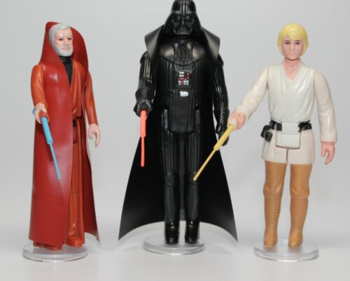 Star Wars DT Double Telescoping Lightsabers for vintage Luke Ben Vader Sabers