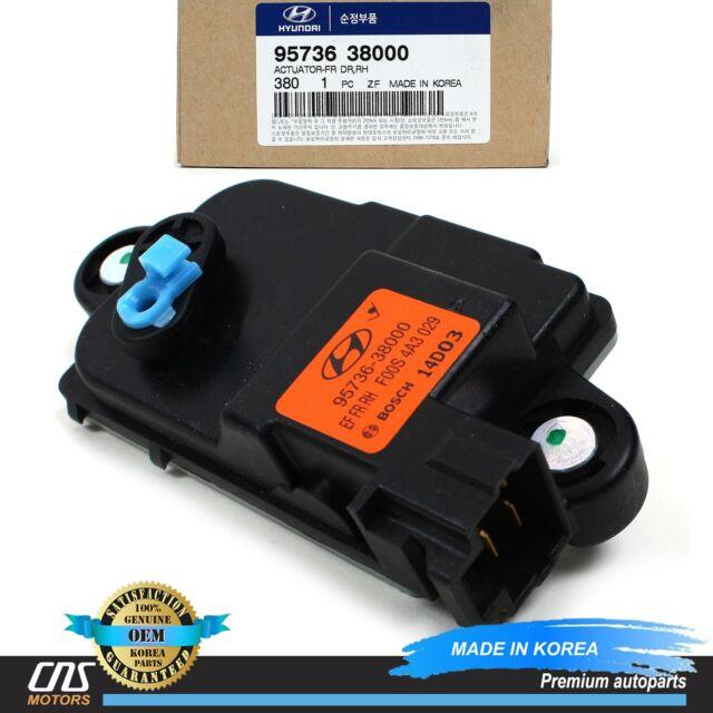 GENUINE Door Lock Actuator FRONT RIGHT for 1999-05 Sonata XG350 OEM 95736-38000