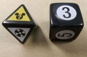 """Scene It /""""TV Deluxe/"""" Edition Replacement Tokens /& Dice Game Pieces"""