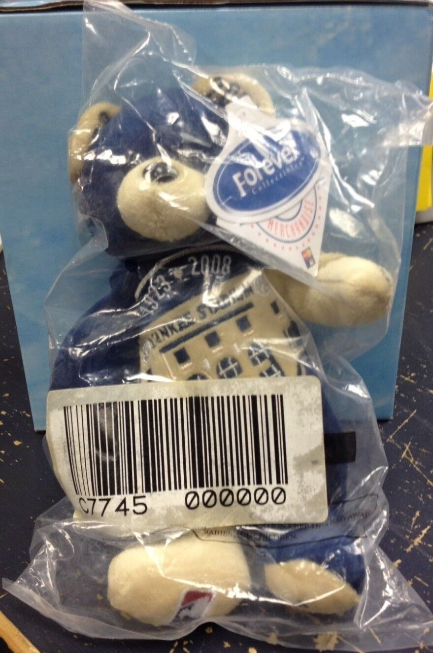 2008 NEW YORK YANKEES FOREVER COLLECTIBLES  FINAL SEASON  BEAR 834 10000