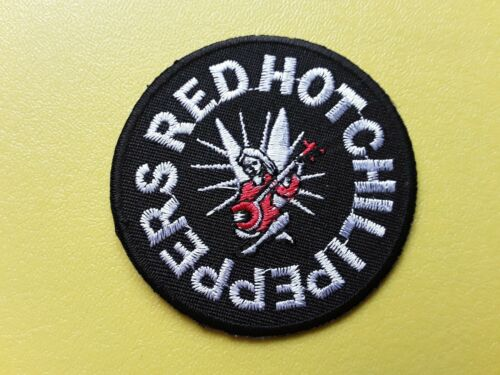 METAL MUSIC SEW ON /& IRON ON PATCH:- RED HOT CHILI PEPPERS PUNK ROCK POP