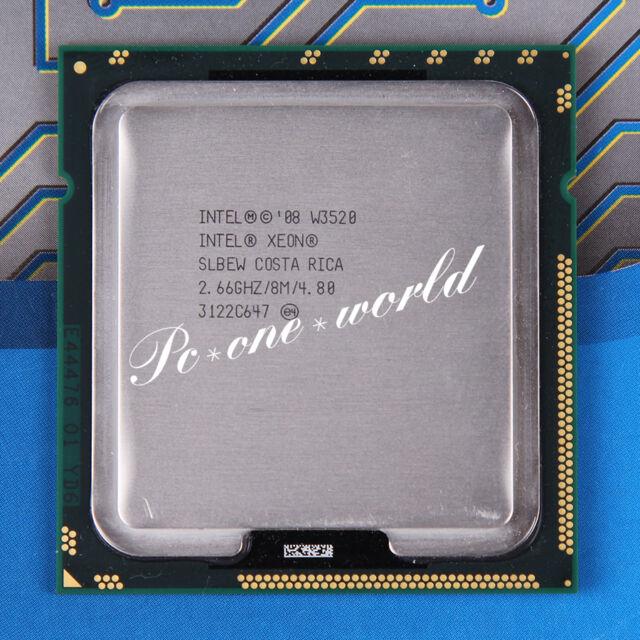 100% OK SLBEW Intel Xeon W3520 2.66 GHz Quad-Core Processor CPU