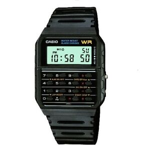 0bd57514313 Image is loading Casio-Men-039-s-Digital-Calculator-Alarm-Chronograph-