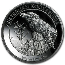 2016 Australia 5 oz Silver Kookaburra Proof (High Relief) - SKU #102910