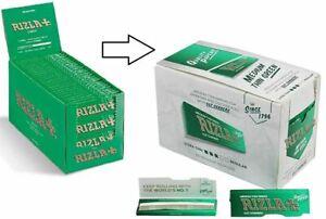 Rizla-Green-Cigarette-Smoking-Rolling-Papers-Regular-Size-100-Genuine-UK-STOCK
