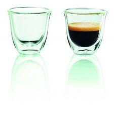 Delonghi Espresso 2er Doppelwandiges Thermoglas spülmaschinenfest