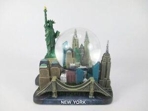 New-York-Schneekugel-XL-bunt-Liberty-Freedom-Brooklyn-USA-Snowglobe