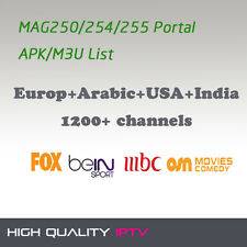 Europe Geman Italy Portugal IPTV Account 1800+ Channels (ExYU, Sky, HBO) M3U Apk