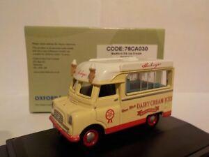 BEDFORD-GELATO-Furgone-modellini-di-automobili-Oxford-Diecast-1-76