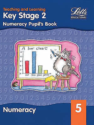 """AS NEW"" KS2 Numeracy Pupil's Book: Year 5 (Key Stage 1 numeracy textbooks), Pat"