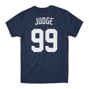Aaron-Judge-Fan-Tee-Yankees-Jersey-Navy-T-Shirt-NEW