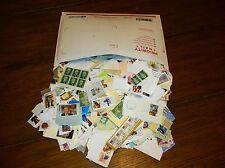 BULK 1 Pound Envelope Filled STAMPS on Paper Kiloware Stuff Lot BARGAIN