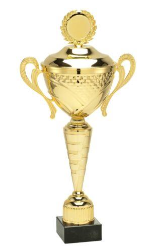 Gravure Gratuite prix 4 Tailles En métal doré Trophée tasse avec votre libre Logo 430 mm
