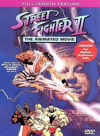 Street Fighter Ii The Animated Movie Dvd 1997 For Sale Online