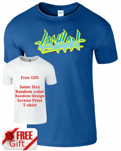 Lachlan Mens Kids T-shirt Youtuber Youtube Gamer Gaming Boys Girls Gift Tee Top
