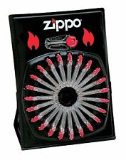Zippo 2406C, 144 Zippo Flints, Wheel Display, 24 Packaged Units of 6 Each