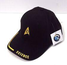 Star Trek Science Logo DELUXE Embroidered Fabric Cap/Hat- Adjustable (HAT002)