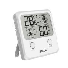 Baldr Digital Thermometer Hygrometer Maxmin Record Temperature Humidity Cf