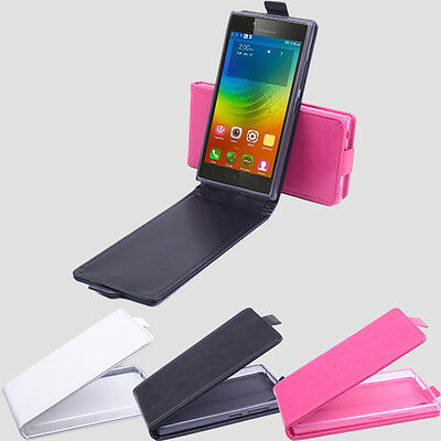 "Flip Shell Cover Leather Case Skin New For 5"" Lenovo P70 P70-T 4G Smartphone"