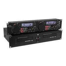 CMP-2000 Omnitronic Dual DJ CD-Player 2 USB für Festplatten, Scratch Mastertempo