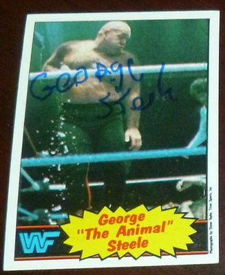 Wendi Richter Signed 1985 Topps WWE Rookie Card #64 Autograph WWF RC Auto/'d Diva