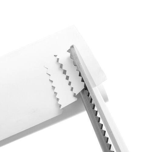 Zackenschere mit für eine leichtere Handhabung Zickzackschere Papier Stoff DE