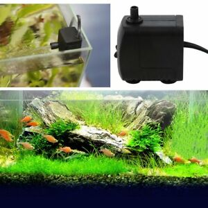 800l/ H Pompe à Eau Pour Aquarium Fish Tank Powerhead Fonctionnalité De L'eau*76
