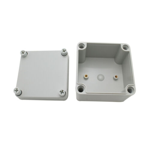 1x Plastic Junction Box Waterproof Electrical Box ABS Material Case 100x100x75mm