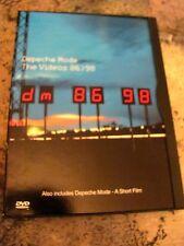 Depeche Mode: The Videos 86 - 98,DVD) David Gahan A. Fletcher ) Very Rare & OOP