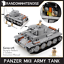 Army-Tank-Vehicles-1711-Panzer-USA-German-Building-Block-Toy-Compatible-Jeep-Kid thumbnail 6