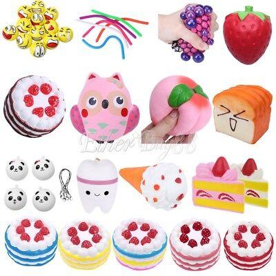 Jumbo Squishy Slow Rising Animal Fruit Cake Cream Squeeze Gift Relief Fidget Toy Um Zu Helfen, Fettiges Essen Zu Verdauen