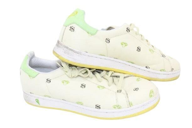 Reebok Ice Cream Diamonds and Dollars White Low Top Shoes sz 12 Cream Limited Ed on eBay thumbnail
