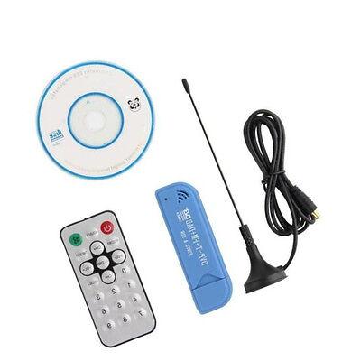 USB 2.0 Software Radio DVB-T RTL2832U+R820T2 SDR Digital TV Receiver Stick