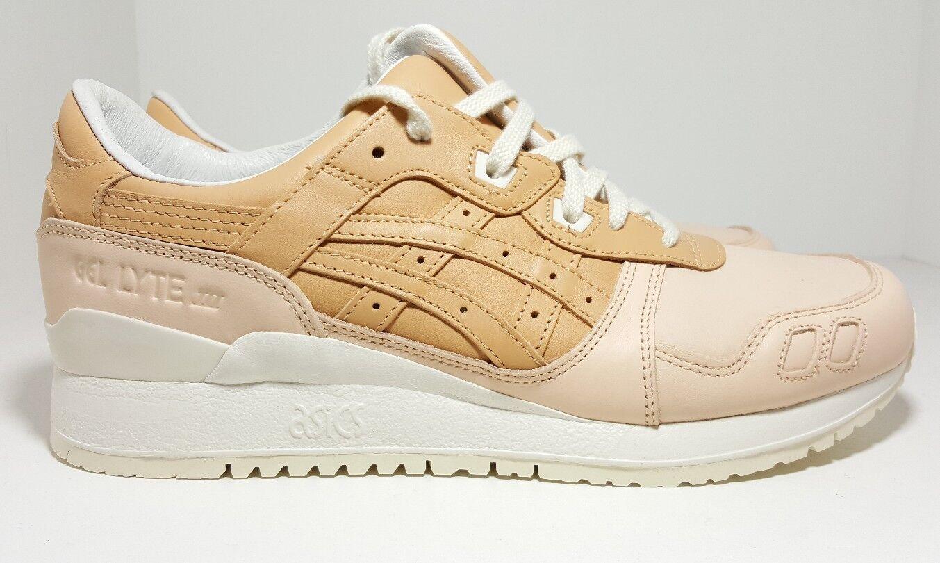 Asics Gel Lyte III Running shoes Veg Tan Cream H7J2L Men's Size 9