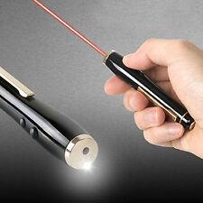 3M LP-6100F 2-in-1 Laser Beam Pointer Red Light Pen 650nm & LED White Light