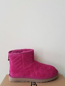 Ugg Australia Womens Arden Quilted Boots Size 6 Nib Ebay