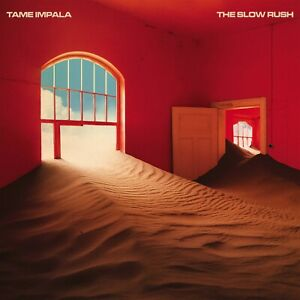 Tame-Impala-THE-SLOW-RUSH-0846007-180g-LIMITED-New-Red-Blue-Colored-Vinyl-2-LP