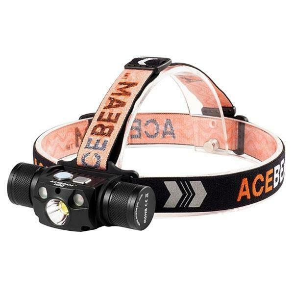 Acebeam H30 XHP70.2 UV Rechargeable Headlamp 4000 Lumens
