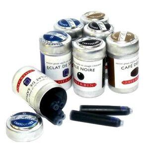 J-Herbin-Tintenpatronen-Patronen-Ink-Cartrigdes-fuer-Fueller-Patronenfueller