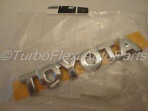 Genuine Toyota Nameplate 75443-20610