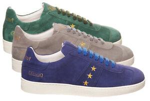 Scarpe-Pantofola-d-039-Oro-Bomber-pelle-camoscio-uomo-scarpe-Sneakers-BBR1WU