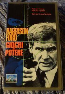 """VHs Originale """"GIOCHI DI POTERE"""" con Harrison Ford (1992) ( tante altre VHS!) - Italia - VHs Originale """"GIOCHI DI POTERE"""" con Harrison Ford (1992) ( tante altre VHS!) - Italia"""