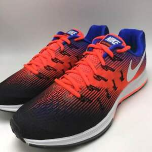 Details about Nike Air Zoom Pegasus 33 Men's Running Shoes BlackWhite Hyper Orange 831352 010