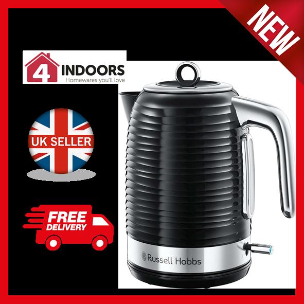 Russell Hobbs 24361 Inspire Kettle Rapid Boil 1.7L 3kW Black